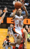 OSU women's basketball Strong second half powers Beavers past St. Martin's