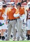 Texas football Major Applewhite, Bryan Harsin