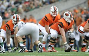 OSU football: Mitchell now Beavers' center of attention
