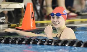 Prep swimming: Lebanon's Kelly adds two more titles to impressive resume