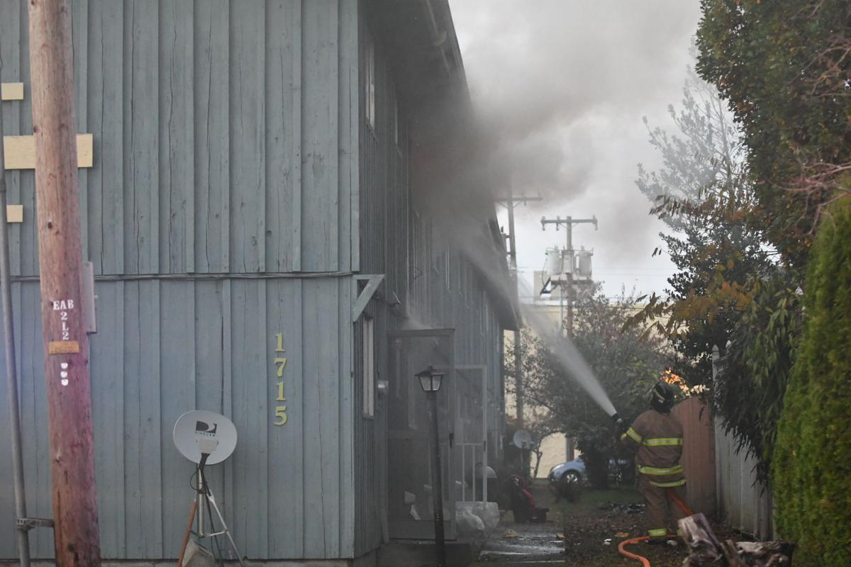 Multiple Crews Battle Philomath Apartment Fire Local