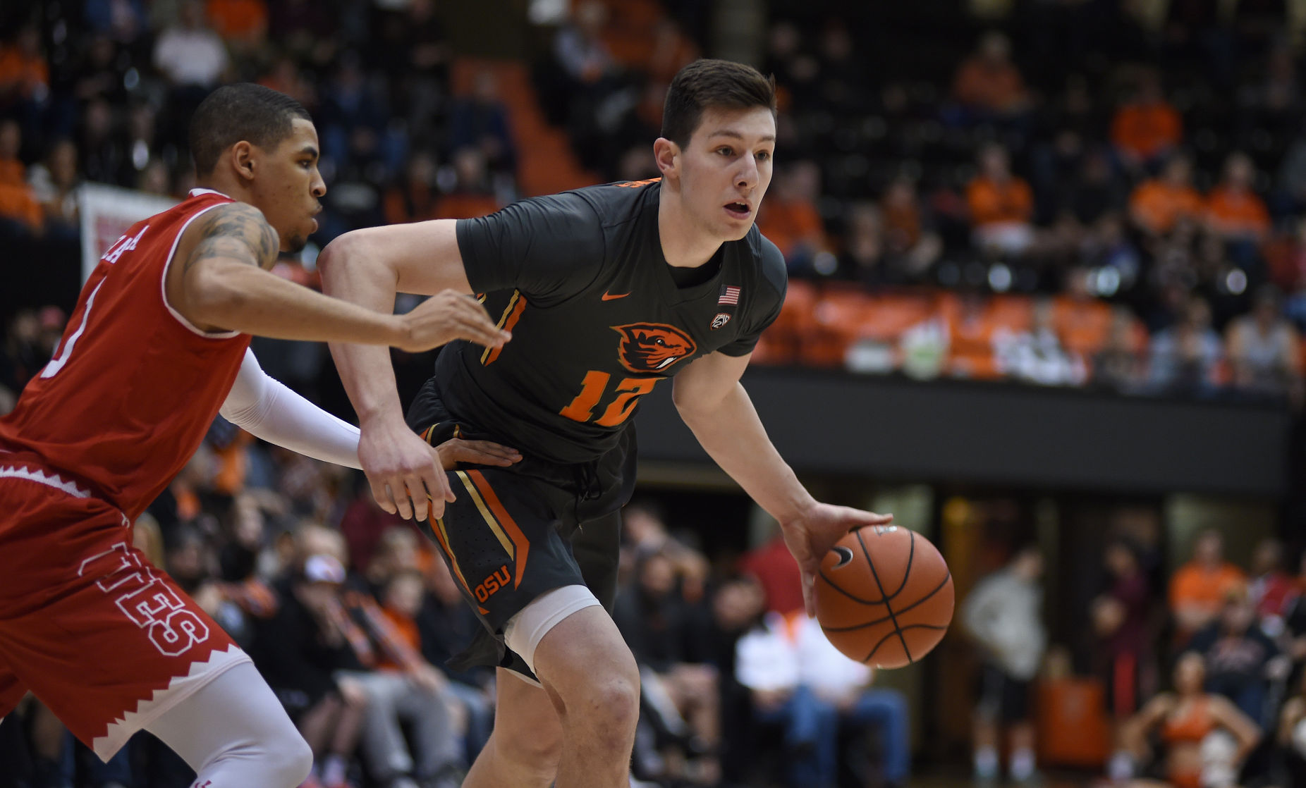 Thompson's 31 lead Oregon State past Utah, 68-67