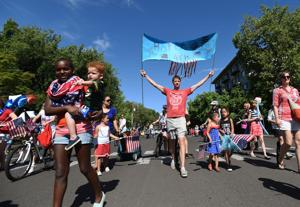 Corvallis Fourth of July parade pays quirky tribute to America