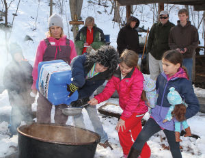 Annual maple sugaring tour a sweet process