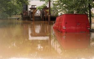 Flooding causes evacuations
