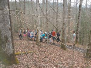 Class gets real when Gettysburg College students save injured hiker