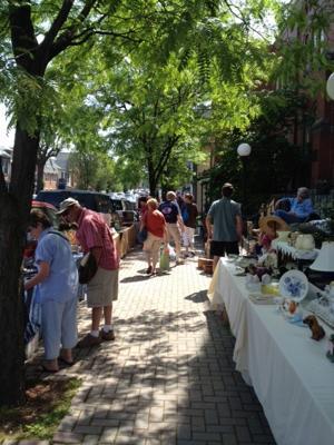 G'burg outdoor antique show is Saturday