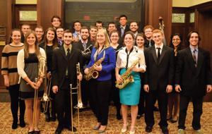 'Up Jumped Spring' jazz concert at Gburg College