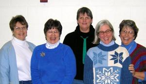 Quilting `Peeps' to show their handiwork on First Friday