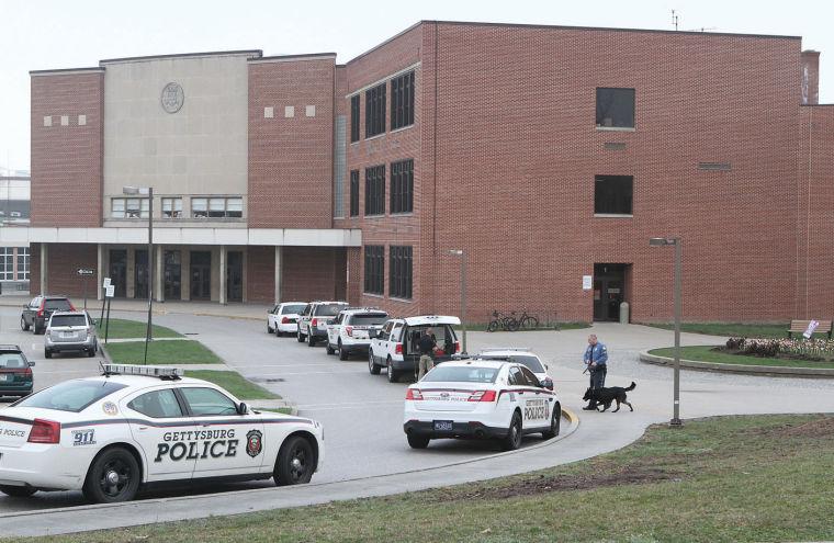 Police sweep Gettysburg Area Middle School - Gettysburgtimes.com ...