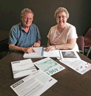 Couple enjoys helping with taxes