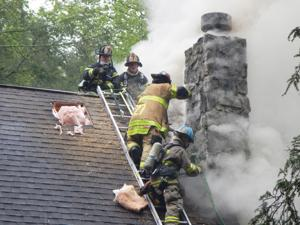Chimney fire deprives family of weekend cabin