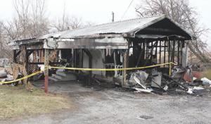 Fire destroys Butler Twp. mobile home