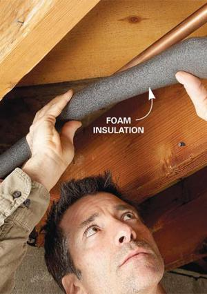 Insulating your pipes is a worthwhile investment.