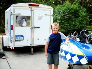 Young racer claims speedway victories