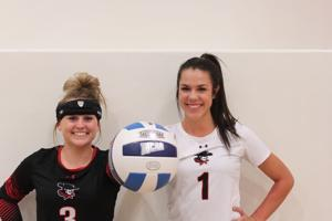 "<p style=""margin: 0in 0in 0pt; line-height: normal;""><span style=""font-family: 'Times New Roman'; font-size: 14pt;"">Ironwood graduate Sydney Bunker and Centennial graduate Carli Bauer helped lead GCC to their first volleyball national title last season.</span></p>"