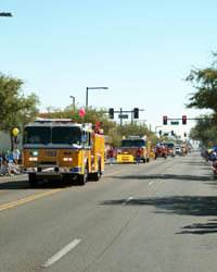 Fire Prevention Day Parade Saturday