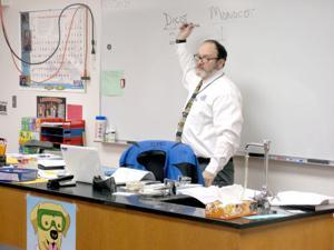 First-year teacher finds career off the beaten path
