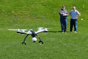 Charles City's drone rangers: Ag students explore new technology