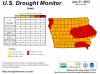Drought Map 080212