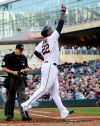 Twins' Sano swats first MLB homer in 8-3 win