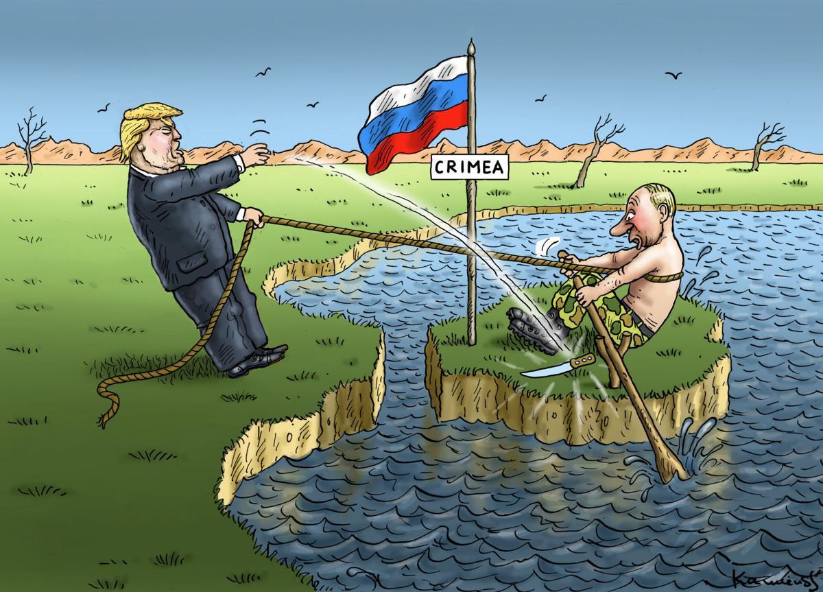 Political Cartoons Trump Putin Ethics Israel Flynn