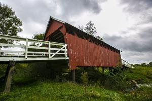 Photos: Wilkinson Pioneer Park Covered Bridge