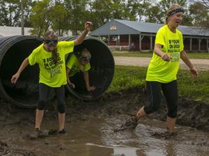 Slippery Saints Mud Run