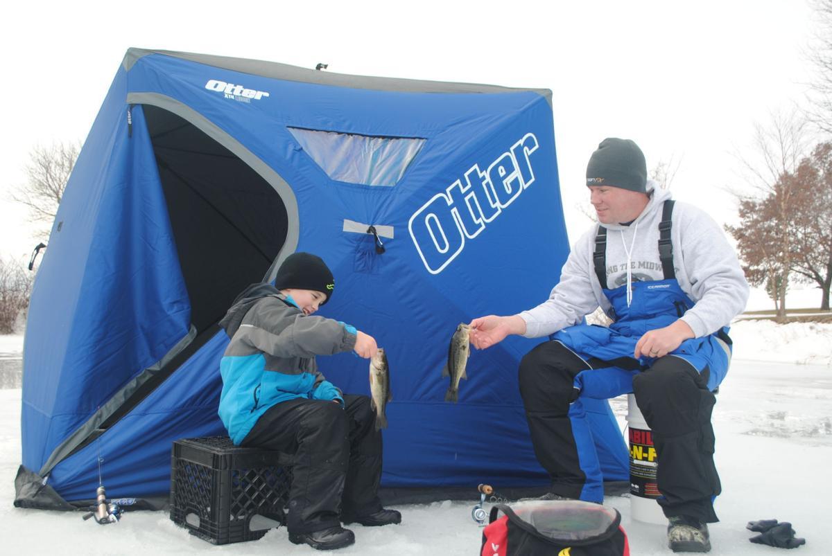 Jensen ice fishing will be in north iowa soon so get for Ice fishing iowa