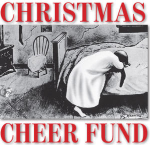 Christmas Cheer Fund donations crack $100,000 mark