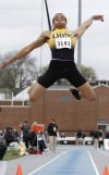 Diercks wins second Drake Relays long jump title