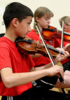 Lincoln instrumental students hold Fine Arts festival