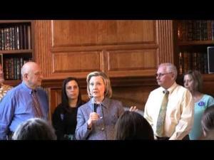 Hillary Clinton in Mason City