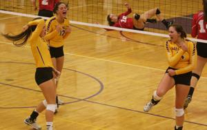 Photos: Forest City at Lake Mills volleyball