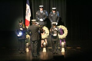 Goodbyes to three heroes: Fallen flight crew honored, remembered in public service