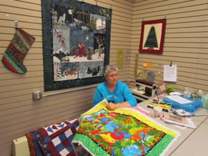 Friends share gift of quilting