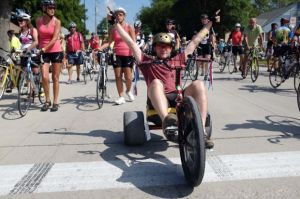 Characters abound during shortest RAGBRAI ride