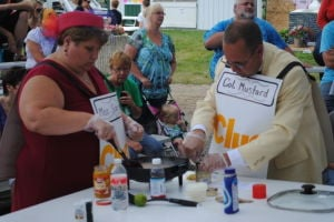 Locals cook with odd ingredients at Hancock County Fair