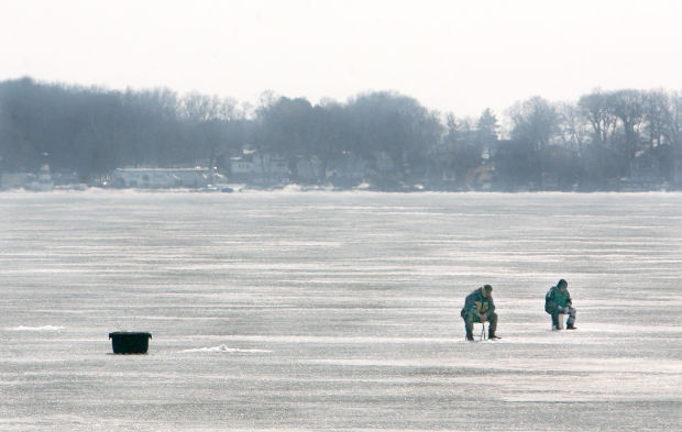 Anglers use your ice intelligence features for Ice fishing iowa