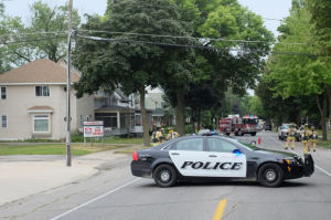 Gas leak reported in downtown Mason City