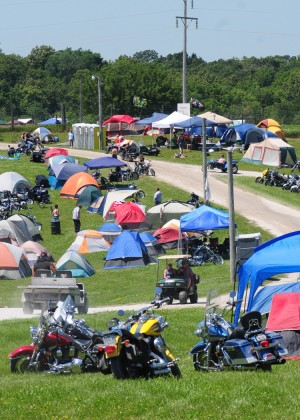 Algona Iowa Bike Rally 2013