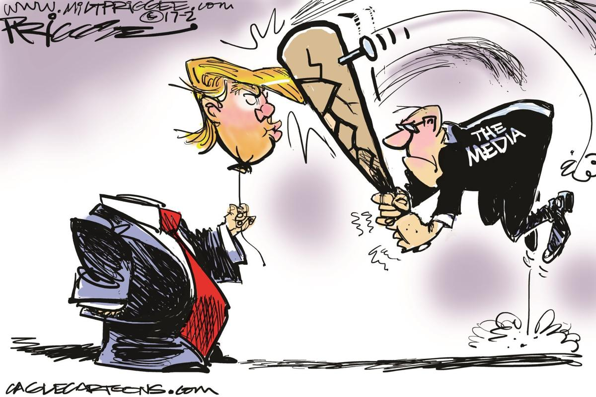 Political cartoons: Facts, fake news, Flynn, immigration ...