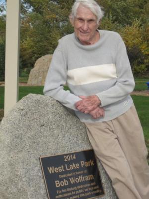 Ventura park dedicated in honor of Wolfram