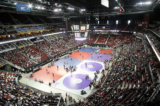 iowa high school wrestling tournament  where dreams are