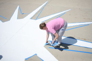 Women pilots add colorful touch to airport