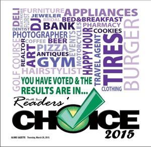 Readers' Choice 2015