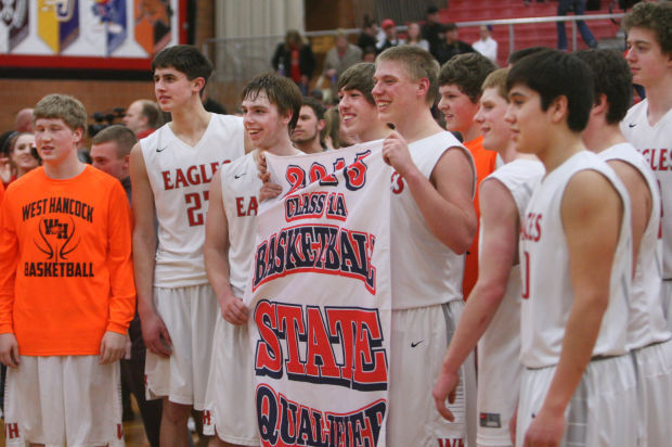 Eagles down Huskies 84-73 for berth in Class 1A state tournament