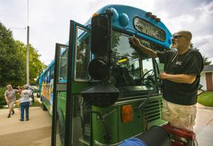 History on wheels: BUS-eum comes to North Iowa