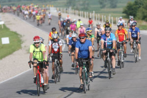 Praise for RAGBRAI's Mason City stop