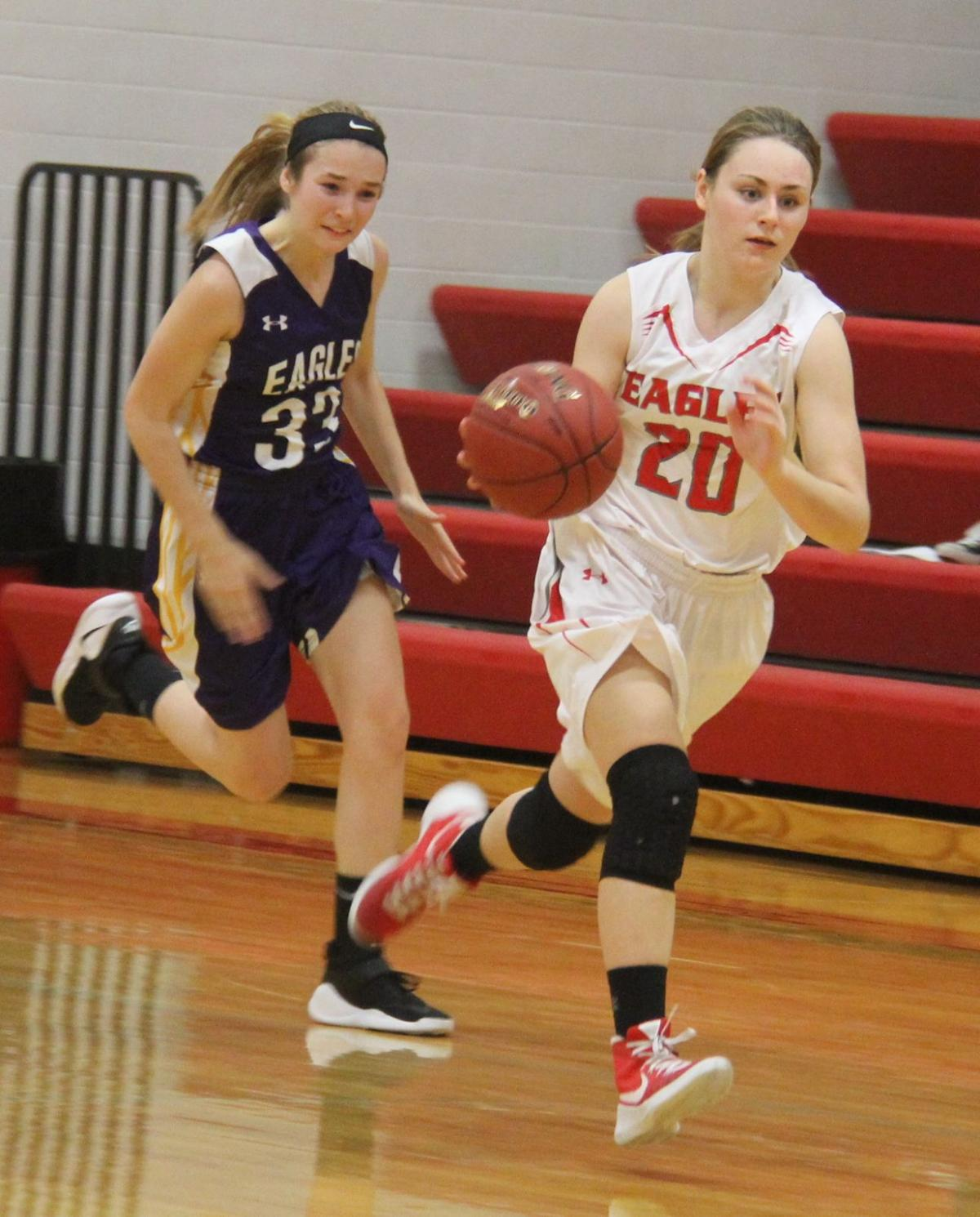 eagle grove girls 2017-2-8 the garner-hayfield-ventura girls split a pair of games last week, moving their top of iowa conference west division record to 8-11 the cardinals opened the game strong and never looked back, as they got an easy win against eagle grove (0-12, 1-15), on tuesday, jan 31 ghv held the eagles.